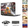 Laptop Hard Case For Macbook Air 11 12 13 Pro 13 15 With Retina Clear Cover Shell For Pro 13 15 No Retina Landscape Painting