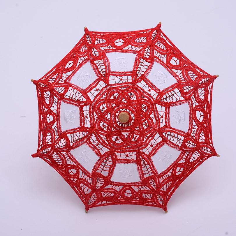 QUNYINGXIU 19cm Djevojke Favorite Craft Cvjetna čipka Ručno - Kućanski robe