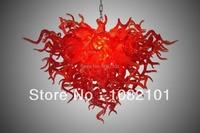 Red Majestic Luxury Chandelier Lighting