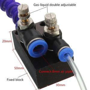 Image 5 - Sis soğutma yağlama püskürtme sistemi için 8mm hava borusu CNC torna freze matkap makinesi Metal kesme oyma soğutma makinesi