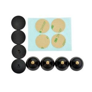 Image 5 - AIYIMA 4 sets Aktive Lautsprecher Spikes Stand Füße Audio Lautsprecher Reparatur Teile Zubehör Plattenspieler 23x19mm DIY Für heimkino