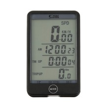 Multifunction Cycling Bike Bicycle Computer Speedometer Odometer Wireless Stopwatch Bike Computer With LED Display Newest