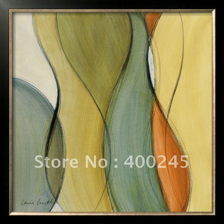 Абстрактная живопись маслом для гостиной современного искусства слияния ручной работы высокого качества