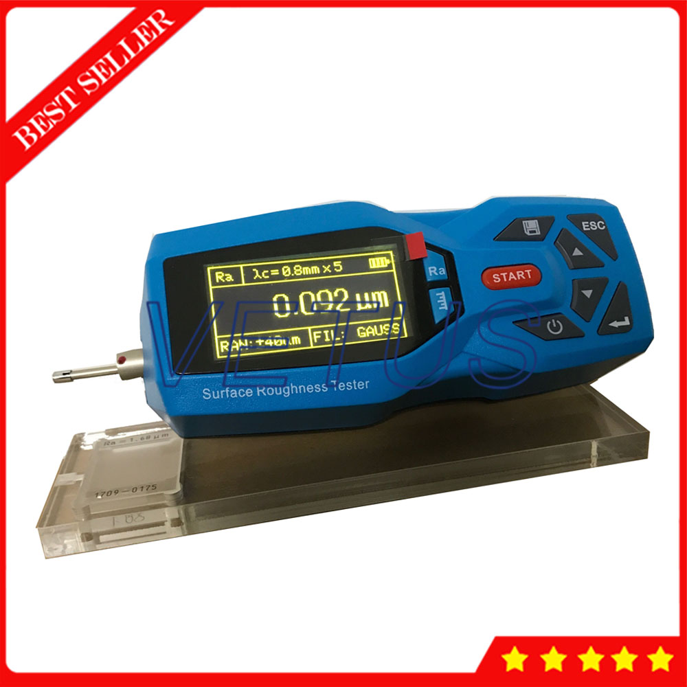 YRT200 Handheld Surface Roughness Tester Metal ShellLarge Capacity Data Memory Can Store 100 Groups Surface Roughness Tester недорго, оригинальная цена