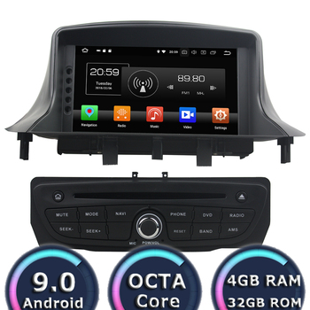 Roadlover 7 Android 9.0 Car DVD Player Autoradio For Megane III Fluence 2009-2016 Stereo GPS Navigation Magnitol 2 Din image