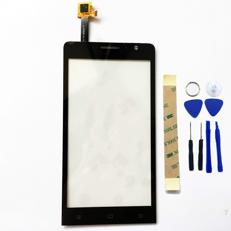2 Color Mobile Phone Touch Panel Touchscreen For Ark Benefit M3S Touch Screen Digitizer Sensor Panel Front Glass +3M sticker