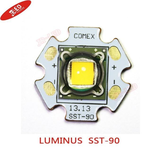 1PCS Luminus SST 90 30W LED Emitter 2250LM Warm White 3000K Module PCB 20mm Copper For