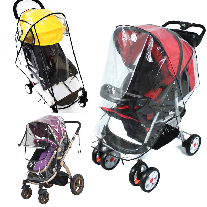 Stroller Accessories Rain Cover For Stroller Windproof Dustproof Rainproof Cover Pushchairs For YOYO High Landscape Stroller