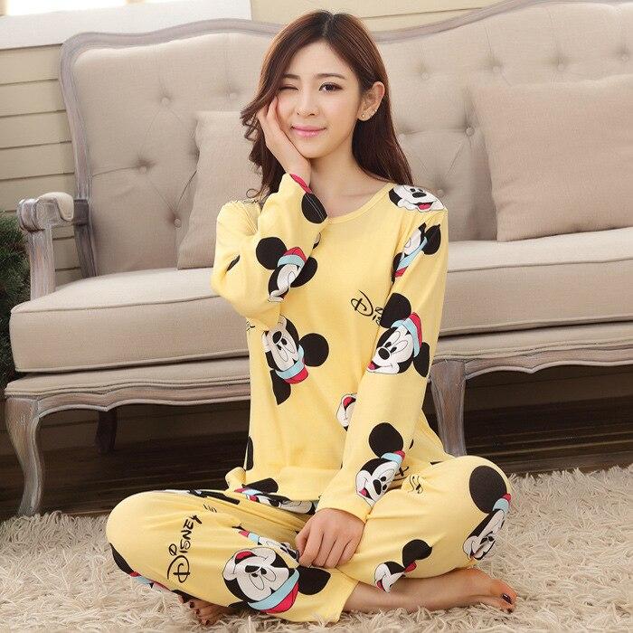 Dropwow Foply New Listing Foply 2018 Spring Pyjamas Women Carton ... b347b4164