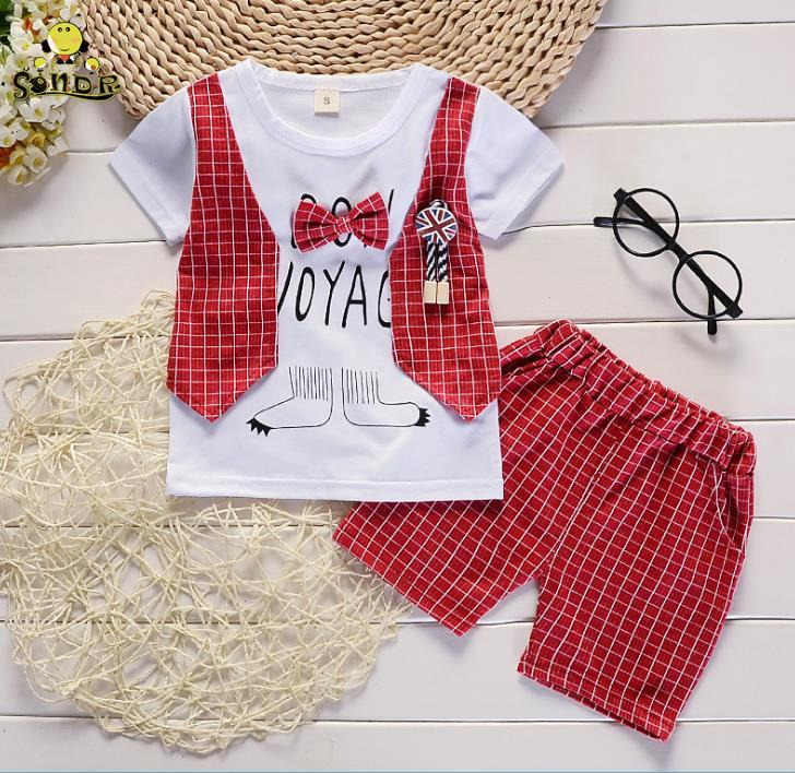 2PCS Children Kids Girls shirt Ripped Jeans Skirt Set Outfit Clothes 1-5Y VV