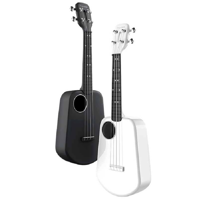 Populele 2 LED Bluetooth USB Smart Ukulele Support Android 4.3/IOS8.0 Above 4 Strings 23 Inch Electric Guitar Ukulele from Xiao