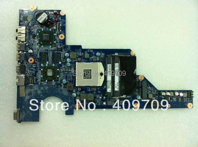 hot sale 100% funtion test freeshipping  for HP G4 g6 g7 HM65 laptop motherboard 650199-001