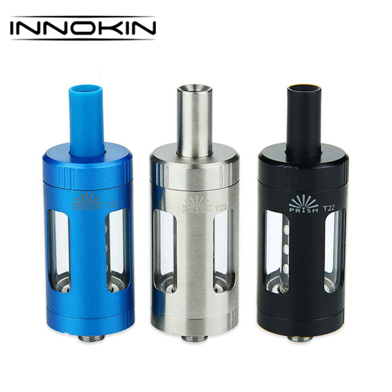 Original 4.5ml Innokin Prism T22 Tank 1.5ohm Coil Head & Top-Fill for Innokin Prism T22 Vape Kit Ecig Vape Tank Coil HeadOriginal 4.5ml Innokin Prism T22 Tank 1.5ohm Coil Head & Top-Fill for Innokin Prism T22 Vape Kit Ecig Vape Tank Coil Head