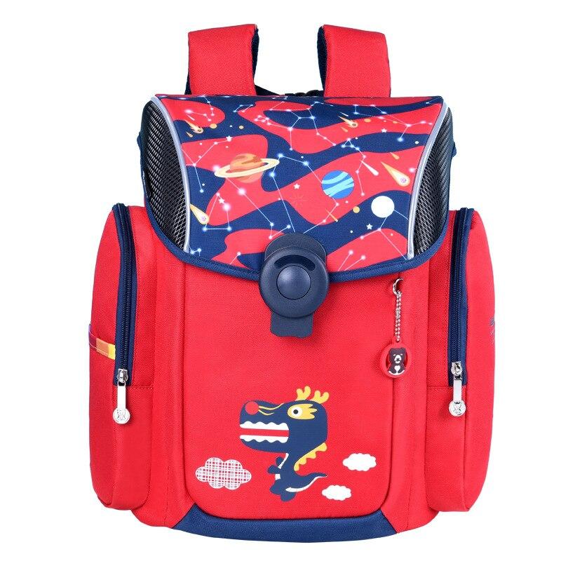 Top-Quality Children School Backpacks Girls Boys Cartoon School Bags Orthopedic Primary School Bookbag Kids Satchel Boy Knapsack