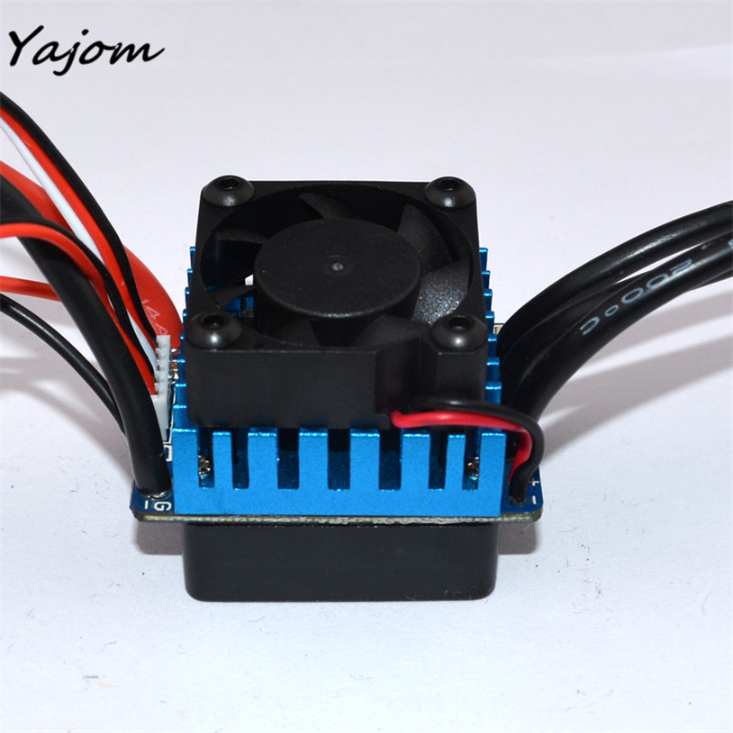 Free for shipping Sensorless 45A Brushless ESC Electric Speed Controller for RC Car Racing Set FT Brand New High Quality May 10 3650 3900kv 4p sensorless brushless motor 60a brushless elec speed controller esc w 5 8v 3a switch mode bec for 1 10 rc car