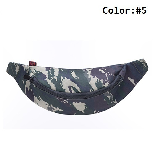 Camouflage Waist Pouch First Aid Kit Included Simple Medical Treatment Tools