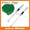CNC Billet Easy Pull Cable Clutch System for Kawasaki KX125 KX250 KX500 KX250F KX450F KLX450R KLX250 KLX150 MX Enduro Dirt Bike