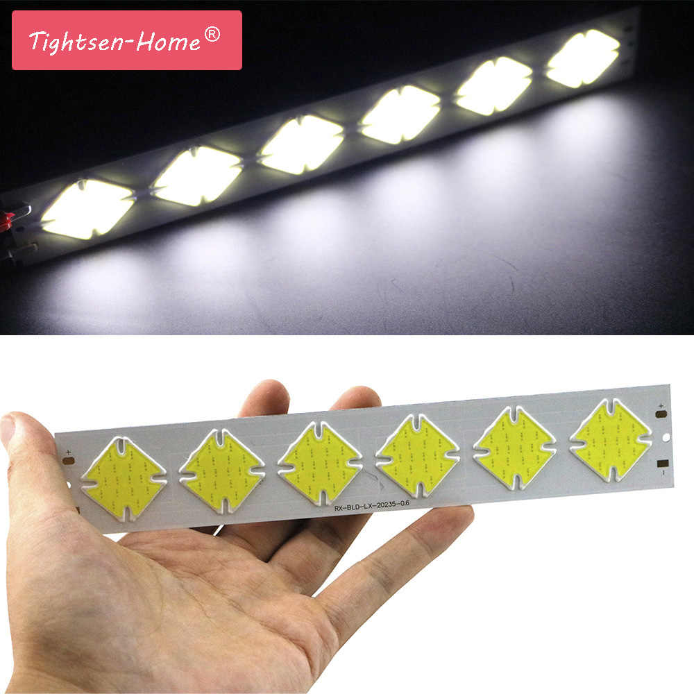 10W 202x35mm DC 12V led cob thin bar strip  CHIP  lamp light cold white cob for bulb cob led strip chip DIY Lighting