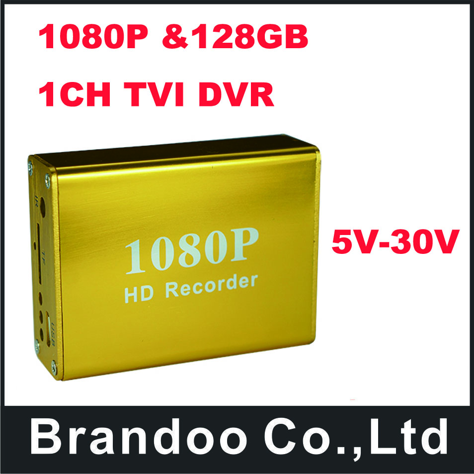 New product!!! 1080P SD DVR, support TVI signal HD camera, Max. 128GB micro sd card used.free shipping to Russia