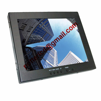 High Bright 6.5 Inch Outdoor Lcd Display Screen , Light Weight Daylight Viewable LCD Monitor