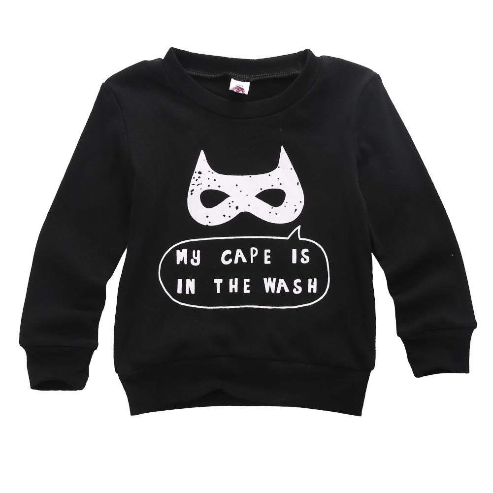 T-Shirt Winter Pullover Baby Cartoon-Print Boys Kids Fashion Autumn Size-2t-6 Tops Long-Sleeve