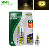 XENCN M5 P15D-25-1 12V 35/35W Motorcycle Golden Eyes Headlight Clear Lighting Halogen Lamp Auto Light Bulbs Free Shipping New
