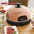 800 W hogar 3-5 personas estufa de pizza eléctrica mini horno para hornear restaurante horno de carne asada 220 v 1 pc