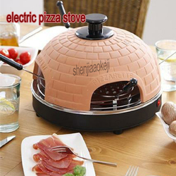 800W Household 3-5 people electric pizza stove mini baking oven Restaurant roast meat furnace 220v 1pc