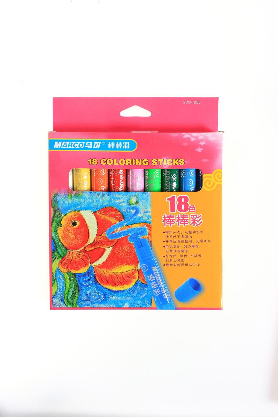 Marco oil pastels box set 12/18 Colors crayon and oil pastel ...