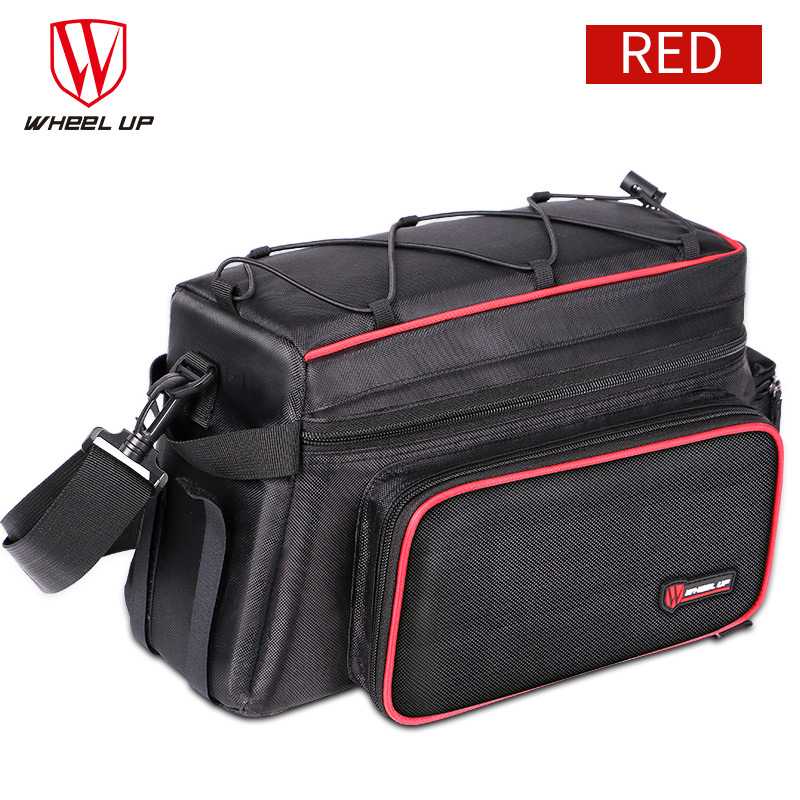 Wheel Up Bicycle Tail Bag 26L Large Capacity Bicycle Bag High Quality MTB Road Bike Double Side Rear Rack Trunk Bag Pannier wheel up bicycle rear seat trunk bag full waterproof big capacity 27l mtb road bike rear bag tail seat panniers cycling touring