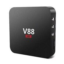 V88 4 K Android 6.0 Smart TV Box Rockchip 1G/8G 4 USB 4 K 2 K WiFi Pleine Charge Quad Core 1.5 GHZ Media Player PK S912 X96 K2