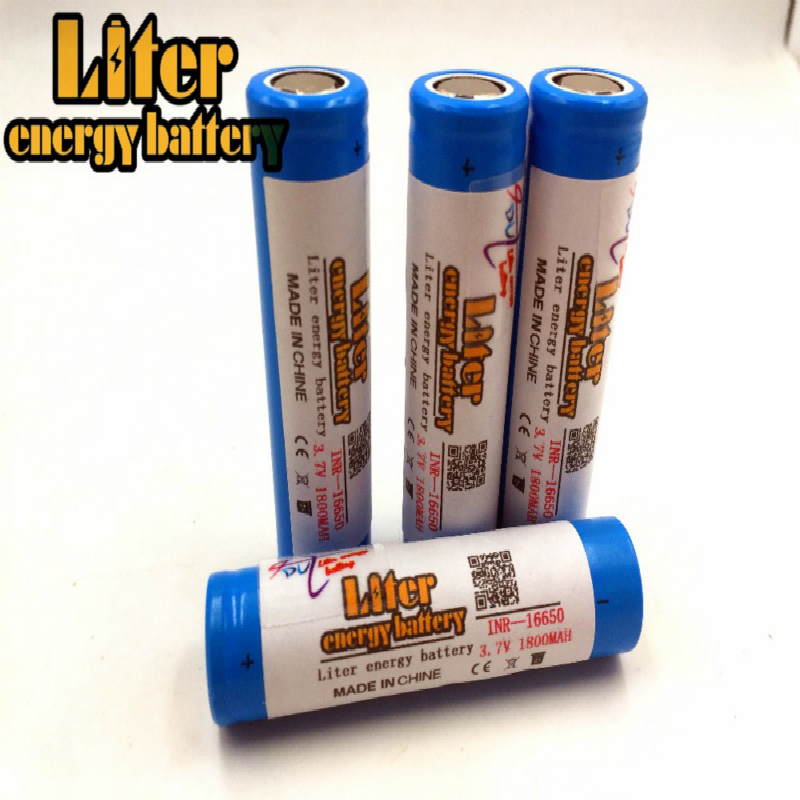 Liter energy <font><b>battery</b></font> <font><b>16650</b></font> 1800mah 3.7V 9.25Wh Li-ion rechargeable <font><b>battery</b></font> Original UR16650ZTA image