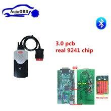3,0 pcb 9241 чип новая коробка для delphis vd ds150e cdp новый VCI tcs cdp pro + 8 шт автомобилей кабели для autocoms можете выбрать