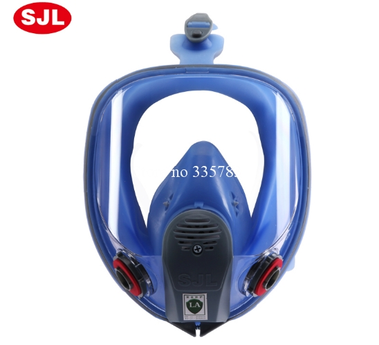 new Full face gas Mask anti pollution Respirator Face Mask for Painting Spraying Anti-dust formaldehyde Fire comparable6800 9 in 1 suit gas mask half face respirator painting spraying for 3 m 7502 n95 6001cn dust gas mask respirator