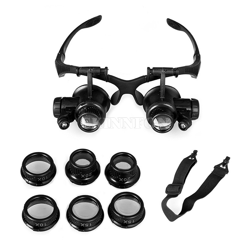 5cc38518335 DHL-100PCS-2017-Hot-Sale-Magnifier-Watch-Repair-Glasses-Eyewear -Magnifier-Loupe-with-LED-10X-15X.jpg