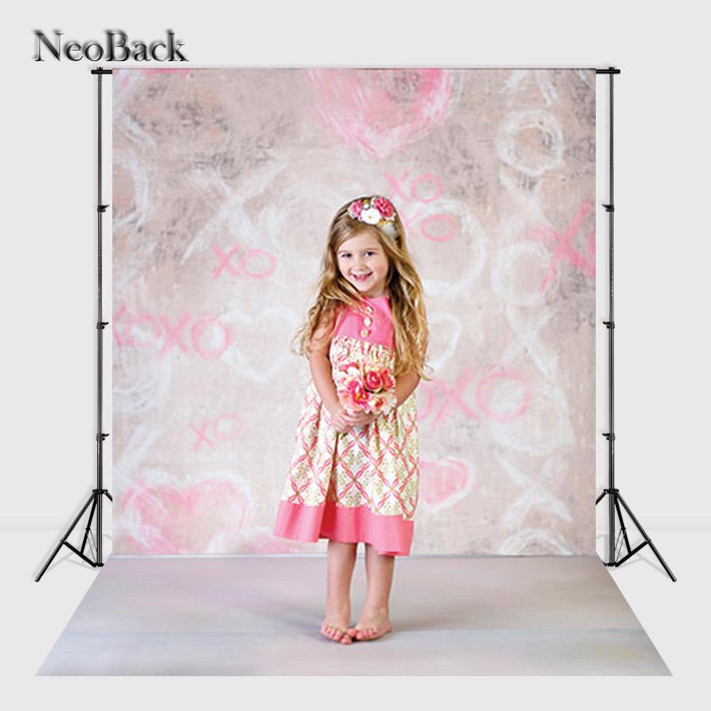 Prix pour 2017 5x7ft poly Vinyle d'été nouveau-né bébé photo studio milieux vinyle numérique tissu imprimé rose tan photo décors P0958