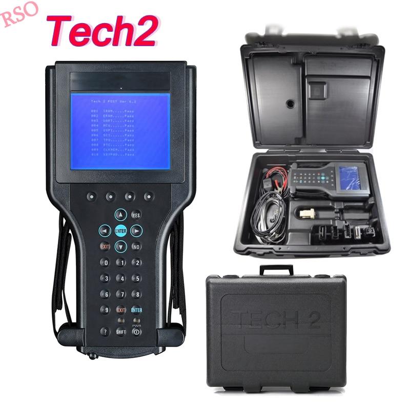 2018 Tech2 pour Mgm outil de diagnostic pour Mgm/SAAB/OPEL/SUZUKI/ISUZU/Holden pour g -m tech scanner Voiture entière système diagnostic tech2