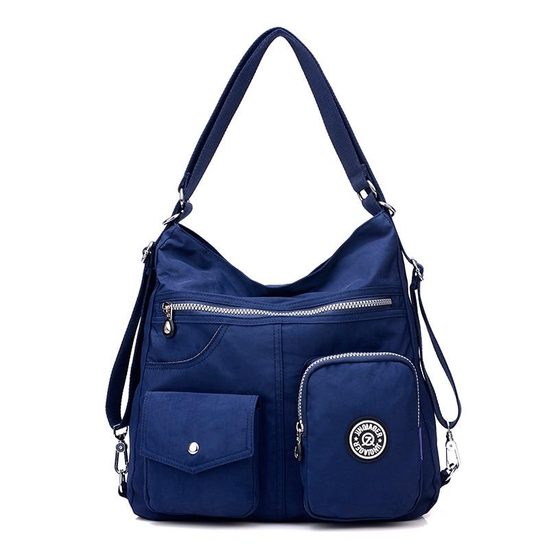 Preppy Style Women Nylon Backpack Natural School Bags For Teenager Casual Female Shoulder Bags Mochila Feminina Travel Bookbag