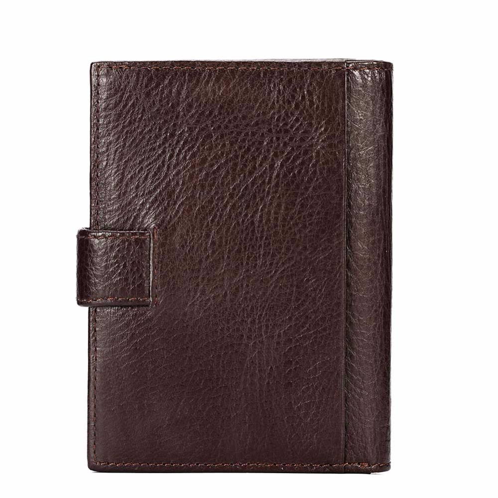 Image 4 - KAVIS Genuine Leather Wallet Men Passport Holder Coin Purse Magic Walet PORTFOLIO MAN Portomonee Mini Vallet Passport Covergenuine leather wallet menleather wallet menportfolio men -