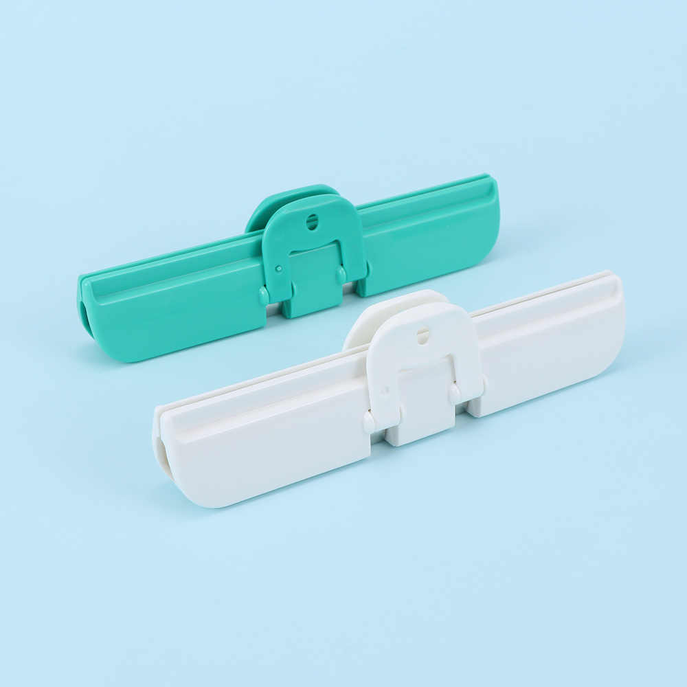 2Pcs/Lot Milk Bag Sealed Clips Candy Food Waterproof Storage Package Sealing Clamp Bag Clips