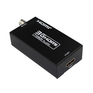 Конвертер видео HDMI в SDI, Mini 3G-SDI HD, 1080P, с адаптером питания для ЕС, США и Великобритании