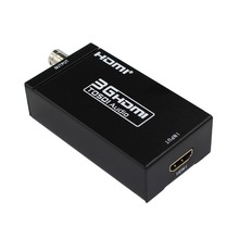 1080p to 3G-SDI 720p/1080i to HD-SDI 480i/576i to SD-SDI Converter Adapter 3G HDMI to SDI Converter Adapter With EU Power Supply цена и фото