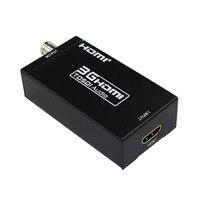 Mini 3G HDMI zu SDI Konverter Unterstützung 1080P 3G HD SDI für SDI Monitore Mit Power Adapter EU UNS UK AU Stecker