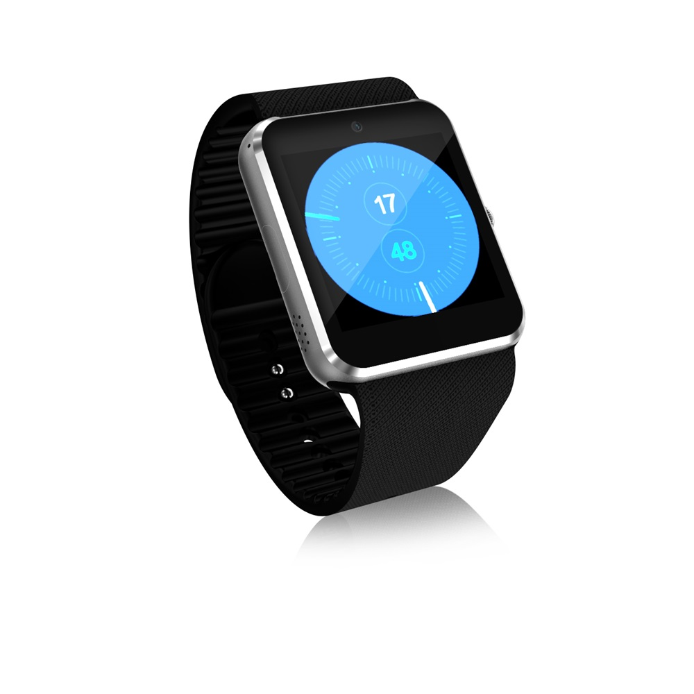 3G QW08 Smart Horloge 1.54 inch Scherm Android 4.4 MTK6572 1.2 GHz Dual Core 512 MB RAM 4 GB ROM Bluetooth 4.0 Android SmartWatch - 3