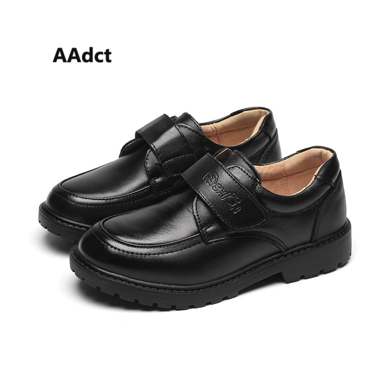 AAdct new Autumn casual leather boys shoes Fashionable Comfortable Children shoes High quality Student kids shoes