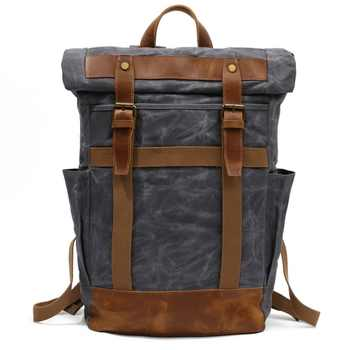 M156 Vintage Military Backpack Male Travel Bag Multifunction Waterproof Backpack School Shoulder bagpack Canvas Men Daypacks New - DISCOUNT ITEM  30% OFF All Category