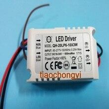 Постоянный ток драйвер для 6-10 шт. 3 Вт высокое Мощность LED в серии, 6-10x3w 650ma TS