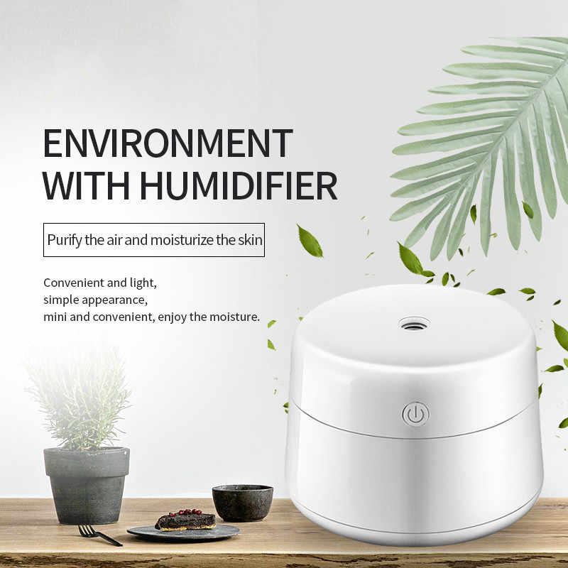 GRTCO 220 ml USB Ultrasonik Serin Sis Hava Nemlendirici Taşınabilir Hava Temizleyici Mist Maker Sisleyici Ev Ofis Araba için