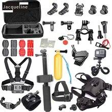 JACQUELINE for Accessories Kit Selfie Monopod w/Phone Lock Bracket Clip for Gopro hero 5 4 3+2 SJCAM/SJ6000/Xiaomi yi/EKEN