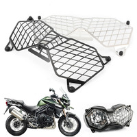 Motorcycle Front Headlight Grille Guard Cover Protector For Triumph Tiger 800 2010 2017 & Explorer 1200 1200XC 2012 2017